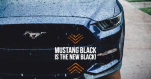 Andys Black Mustang