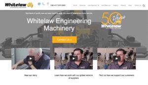 whitelaw-engineering-machinery-website