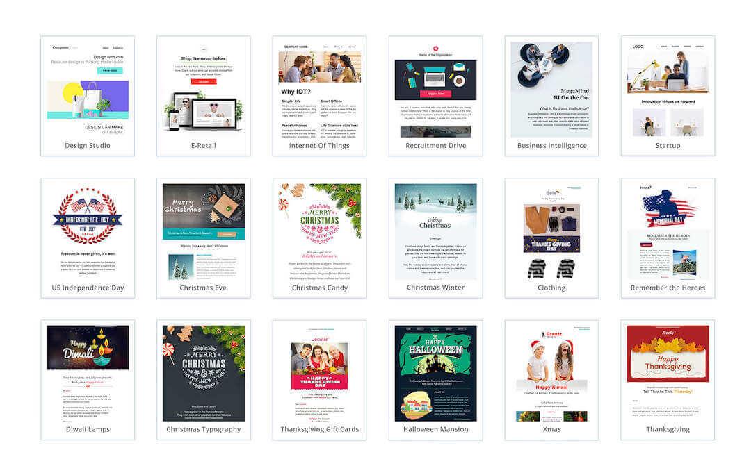 zoho-campaigns-premade-templates